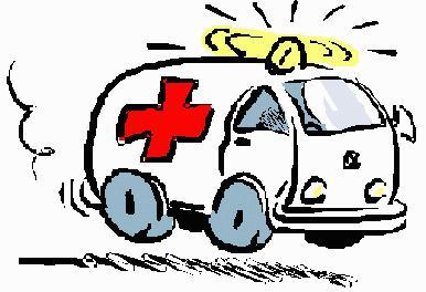 Esta mañana casi me embiste una ambulancia
